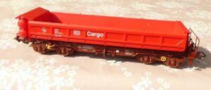 Piko-54604-H0-Zweiseitenkipper-Fakks127-der-DB-AG-Epoche-5-6-Kipper-zum-Offnen
