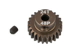 Arrowmax Pignon De Moteur Aluminium 48p 24z (7075) Et D'Avoir Une Longue Vie.