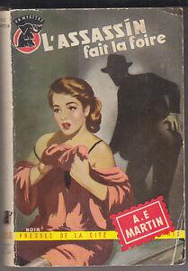 C1-AUSTRALIE-A-E-Martin-L-ASSASSIN-FAIT-LA-FOIRE-Un-Mystere-1955-Common-People