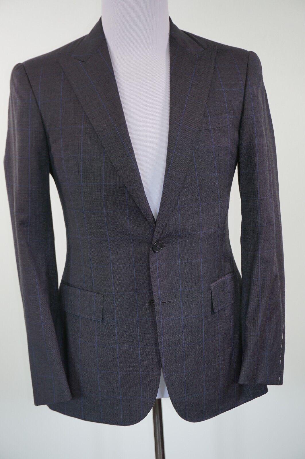 Ralph Lauren lila Label Suit 38R (31W) Anthony grau 100% Wool MSRP 2385