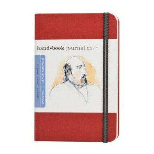 GLOBAL ART MATERIAL 721214 HANDBOOK TRAVELOGUE JOURNAL 3.5X5.5 PORTRAIT VERMI...