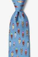 Alynn 100% Silk Bringing Up The Rear Kentucky Derby Horse Racing Necktie Tie
