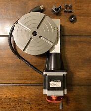 Sherline PN 8730 CNC Rotary Table with Stepper Motor.