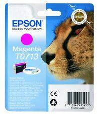Epson T0713 Magenta Ink Cartridge for Stylus SX515w SX510w SX210 SX215