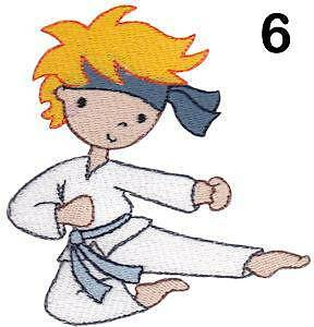 Personnalisé brodé karate polyvalent-pe kit swim school sac kar