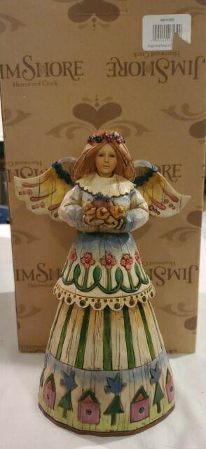 Heartwood Creek Jim Shore 2003 Angel Of Love Figurine For Sale Online Ebay