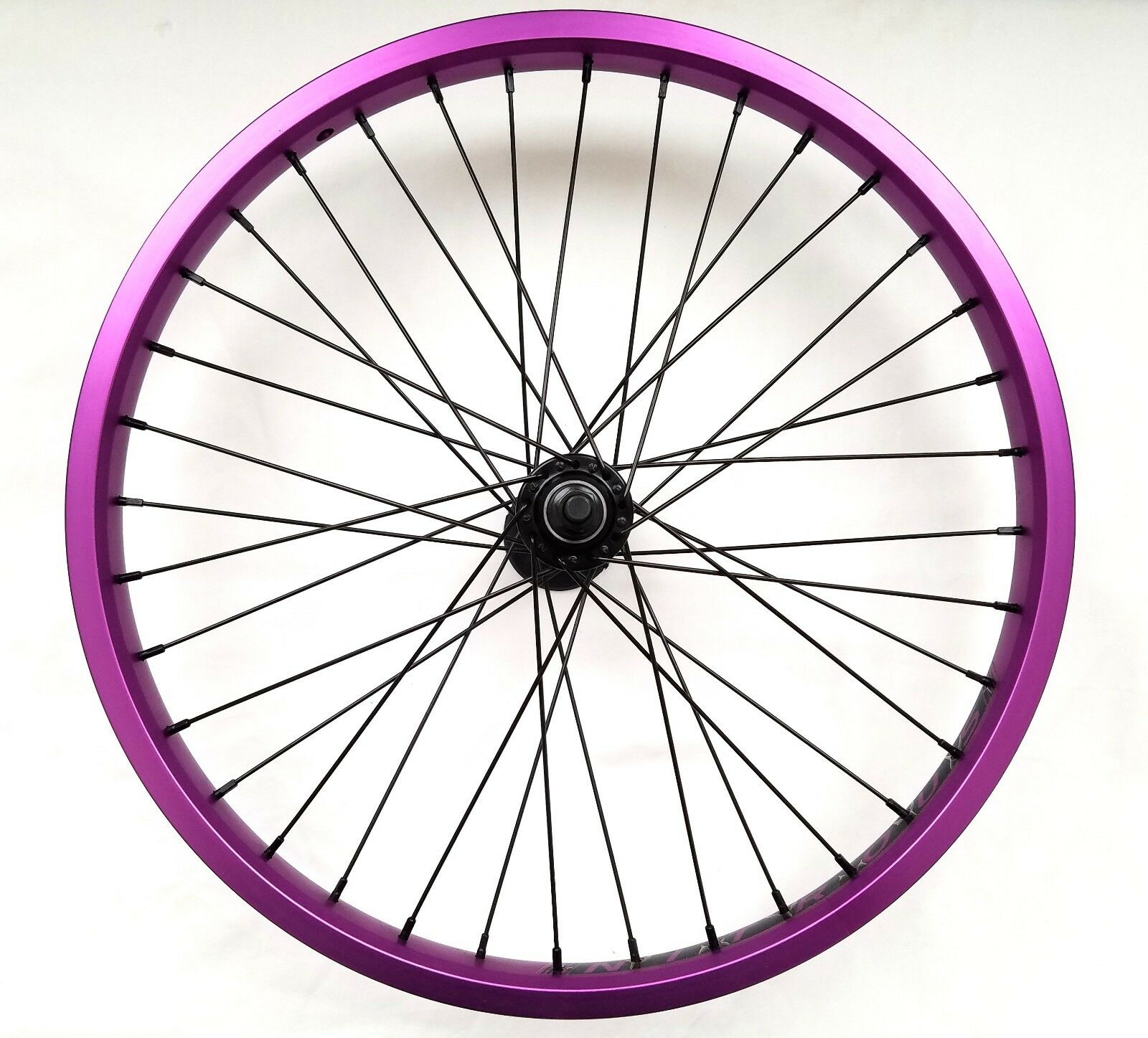 Eastern Bikes 20inch Nitrous Double Wall Sealed Bearing 3  8 Front Wheel Purple  high quality genuine