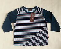 Boy's Rabbit Moon By Le Top, Striped, Size 9-12 Month, Free Shipping