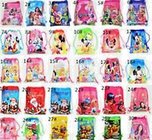 NEW-Kids-Boys-Girls-Drawstring-Gym-Toy-Swimming-Beach-PE-School-Party-Book-Bag