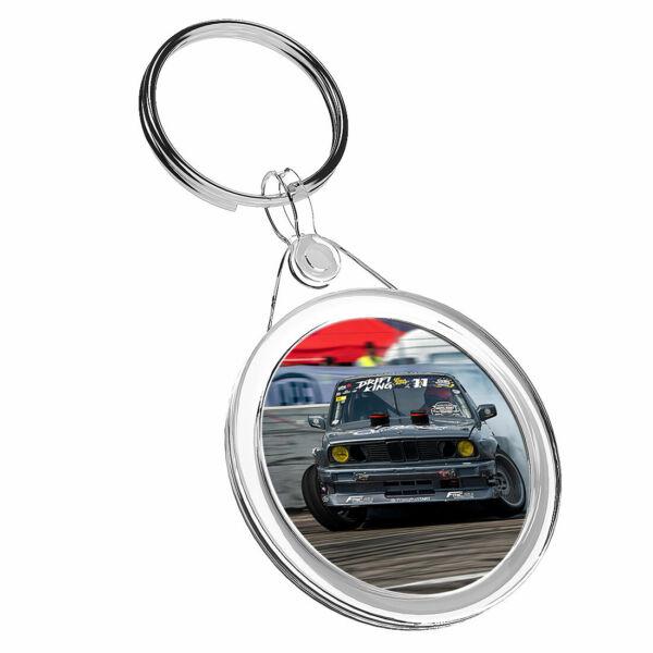 1 Drifting King Auto X Rally-portachiavi Ir02 Mamma Papà Bambini Compleanno Regalo #16561