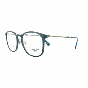 13a85d3c447 Ray-Ban Glasses Frames RX8954 8030 50MM Blue Grey Graphene Mens 50mm ...