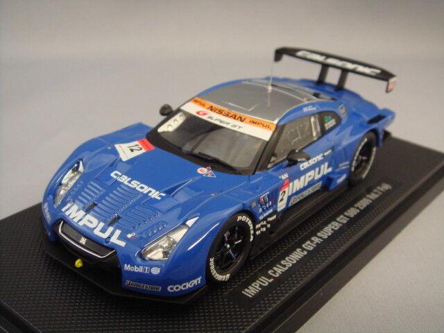 Ebbro 1 43 GT-R Calsonic Impul súperGT 500 2009  12 Roud 7 Fuji T. Matsuda S. Philip