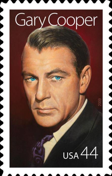 2009 44c Gary Cooper, Legends of Hollywood Scott 4421 M