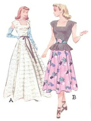 #2 EVENING GOWN   PATTERN FOR ALL SIZE DOLLS