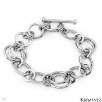 Brand Krementz Bracelet In 925 Sterling Silver