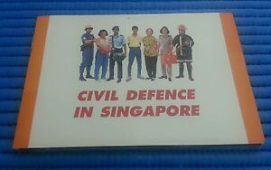 1991 Singapore Civil Defence Commemorative Uncirculated $5 Cupro-NickelCoin