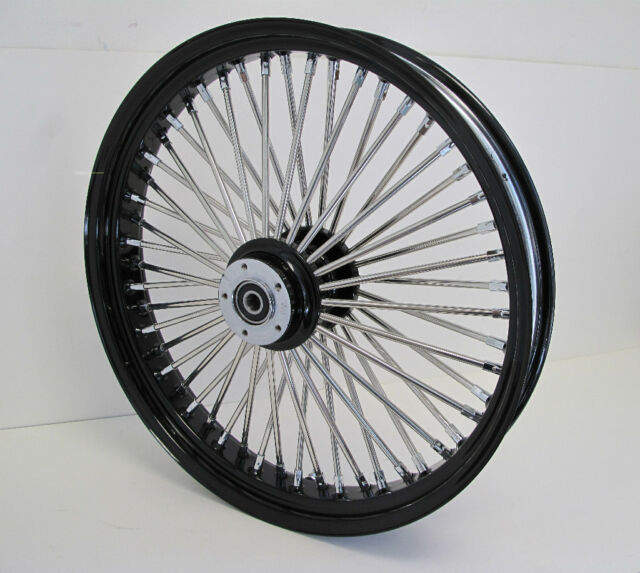 ADD BLACK SPOKES TO MAMMOTH 52 SPOKE WHEEL SET Wheel Rims Vehicle Parts & Accessories