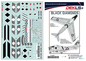 1-48-Avon-Sabre-RAAF-75-SQN-039-Black-Diamonds-039-Aerobatic-Team-DEKL-039-s-II