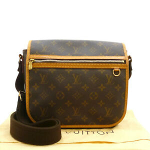 Image is loading Auth-LOUIS-VUITTON-Messenger-Bosphore-PM-Cross-Body- c25c6e1d9de6f