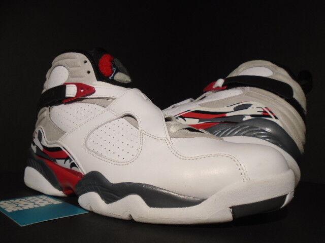 c47774d4e95 Nike Men s Air Jordan 8 Retro Bugs Bunny White Leather SNEAKERS Size 10.5  Medium (d M) for sale online