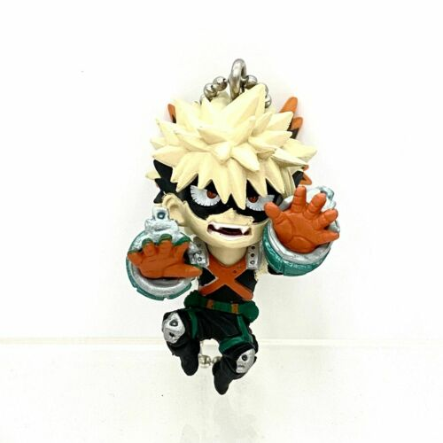 My Hero Academia Swing Mascot PVC Keychain Charm SD Figure Katsuki Bakugou @8327