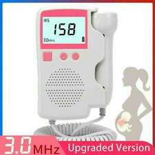 Heart Rate Monitor Home Pregnancy Baby Fetal Sound Heart Rate Detector Display
