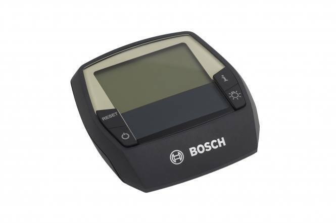 Bosch intuvia DisJugar para e-bike con Bosch fondos motor negro bicicleta eléctrica