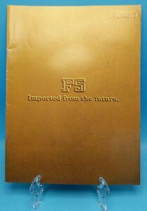 NIKON F5 Sales Literature Technical Guide Brochure Pamphlet 1998