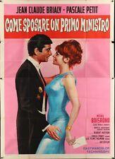 COMMENT EPOUSER UN PREMIER MINISTRE Italian 4F movie poster 55x79 BRIALY PETIT