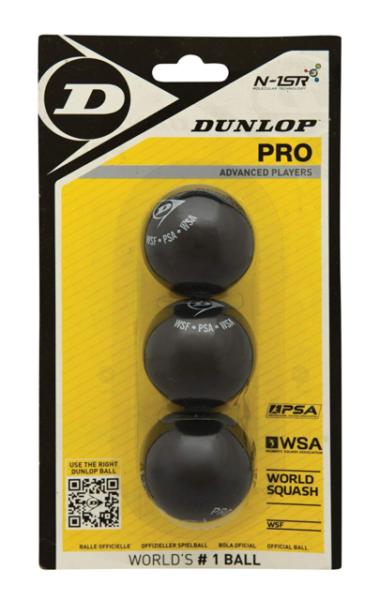 Dunlop PRO 3BBL Squash Ball