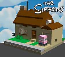 LEGO Simpsons House mini modular custom PDF instructions MOC 71006
