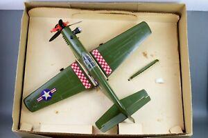 COX-P51-AVION-MUSTANG-GAS-AIRPLANE-BOX-amp-ACCES-P-51-RAZORBACK-1963-1970-PLANE
