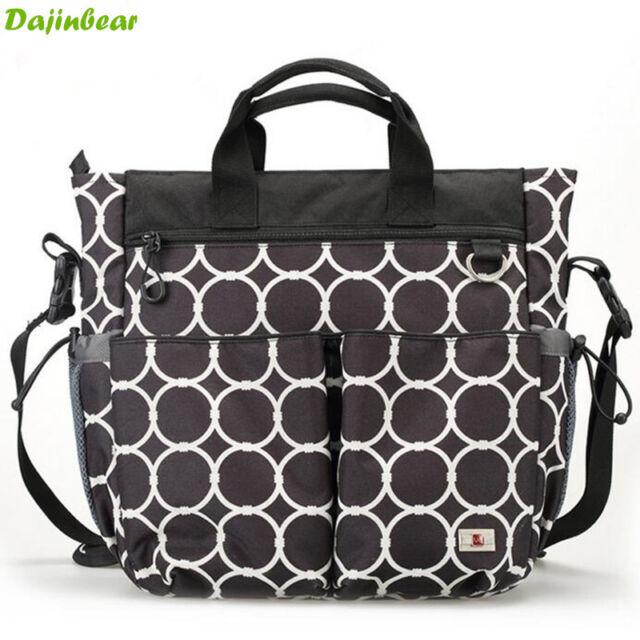 3 PCS/Set Waterproof Baby Diaper Nappy Bag mummy bag Womens Handbag Shoulder Bag