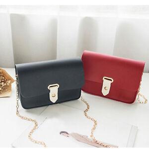 Pure-Color-Small-Women-Girl-Satchel-Purse-Coin-Purse-Handbag-Shoulder-Bags