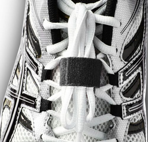 Lacekeeper 1 keeps shoelaces tied and out of the way