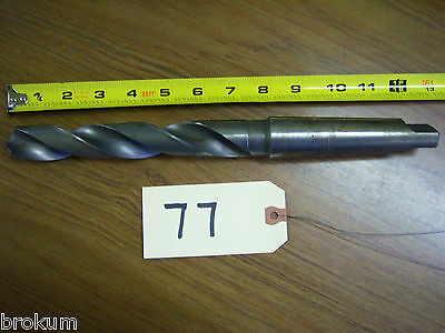 "Cle-Forge #3 Morse Taper Shank 1.00/"" HSS Extra Long Drill"