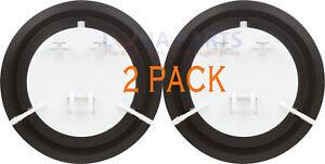 (2 Pack) Refrigerator Ice Door Recess Flapper Ge Wr17x11653 Ap3672582 Ps964304 à Vendre