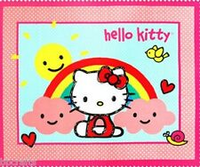 NEW LARGE HELLO KITTY RAINBOW PANEL FOR BABY QUILTS HOME DECOR & OTHER PROJECTS