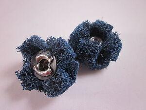 Porting-amp-Polishing-Cross-Buffs-2-x-Standard-Abrasives-Medium-1-034-x-3-8-034-8-32