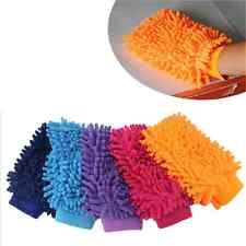 Icrofibre Car Wash Shampoo Cleaning Mitt Glove Polish Cloth Duster Brush Random