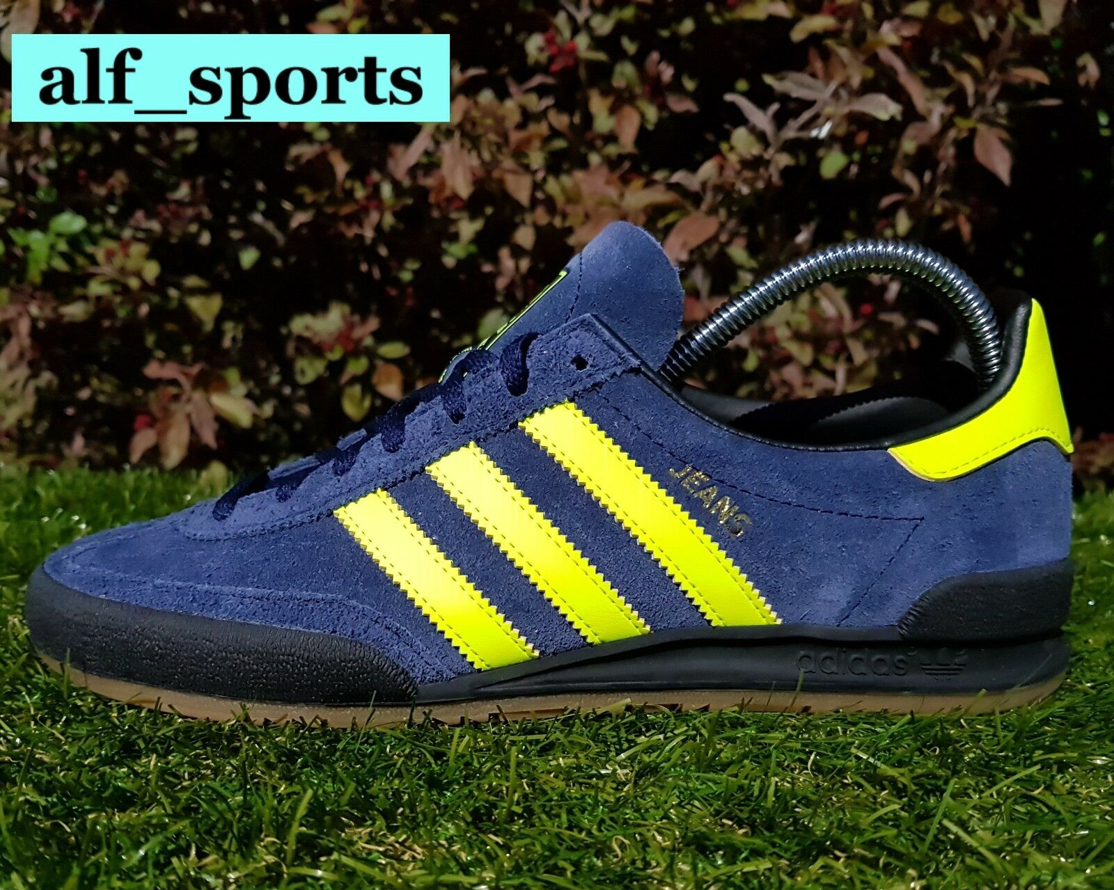 BNWB Genuine adidas originals Jeans MkII Mk2 Collegiate Navy Trainers UK Größe 5