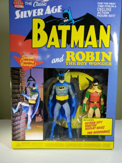 """DC Direct Classic Silver Age """"Batman and Robin""""  Deluxe Action Figure Set"""