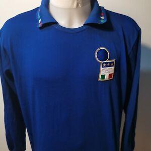 maillot-de-football-Equipe-d-039-italie-taille-xl-1994-vintage-N-3-diadora