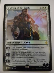 Amonkhet MTG Rare Mythic Gideon of the Trials x 1 NM