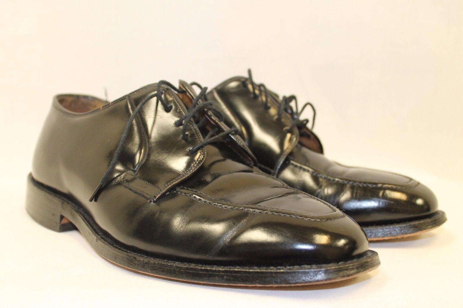 compra nuovo economico Johnston and Murphy Heritage Apron Apron Apron Toe Leather USA 8 3E EEE nero Extra Wide  divertiti con uno sconto del 30-50%