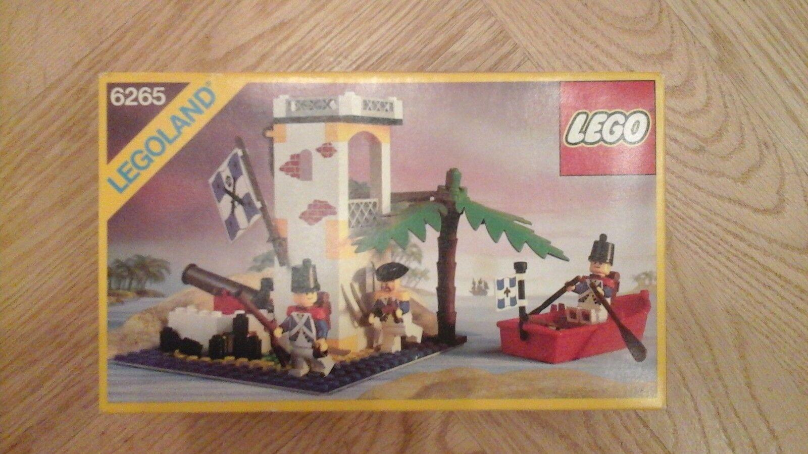 Lego 6265 soldatenturm inselposten in sehr guter erhaltung
