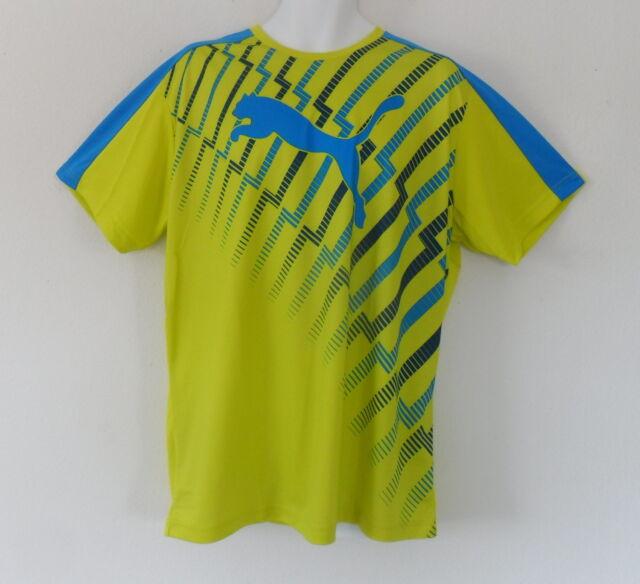 d280d1b5a42 Puma EvoTRG GRAPHIC TRAINING Shirt Running Gym Evo Trg DryCell Tee Top~Mens  sz L
