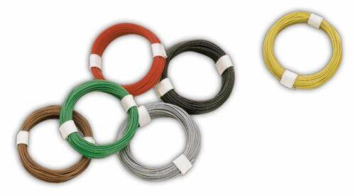 Grundpreis 1 m = € 0,24 Busch 5792 Micro Kabel grün 10m