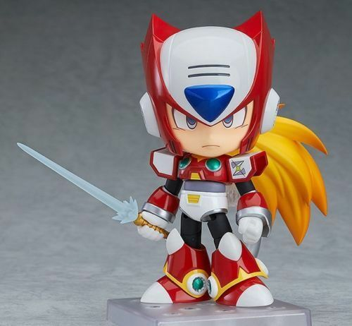GOOD SMILE COMPANY CAPCOM NENDGoldID 860 MEGAMAN ROCKMAN X ZERO ACTION FIGURE
