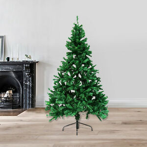 6/' Ft Artificial Christmas Pine Tree Premium Hinged Xmas without Decor